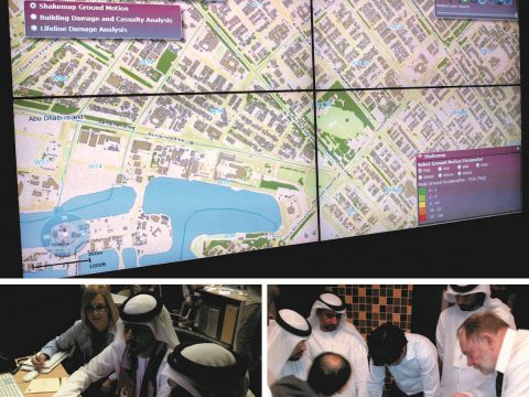 Project: Assessment of Seismic Hazard and Risk in Emirate of Abu Dhabi, 2010-2013 (Investor: Abu Dhabi Municipality).