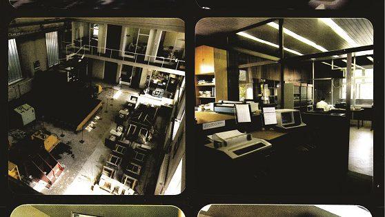 Од просториите на старата зграда на ИЗИИС (денешен Градежен Факултет при УКИМ) пред 1981