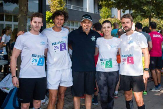 ИЗИИС со свои претставници на Business Run 2018