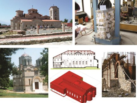 Design of seismically resistant structural systems for rebuilding/reconstruction of historic monuments in the country (Investor: the Macedonian Orthodox church, Cultural Heritage Protection Office of R. N. Macedonia).