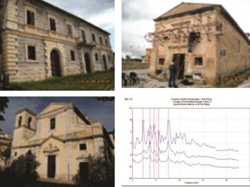 In Situ Testing of Damaged Monuments in Abruzzo Region, L'Aquila, Italy, by Ambient Vibration Method, 2010 (COST C26 Action)
