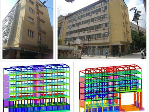 Project: Study of possibilities and conditions for widening Goce Delchev Boulevard with a solution for adaptation and strengthening of MAKOTEKS building, Skopje, 2013 – 2015 (Investor: Skopje city).
