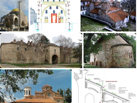 Studies for diagnosis of existing state, seismic potential of location, in situ testing, structural consolidation and seismic retrofitting of historic monuments.