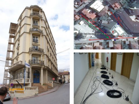 Project: Seismic Safety of OSCE mission building in Kosovo (seismic potential of the site, in situ testing of the structure, analysis of conditions), 2014 (Investor, OSCE mission in Kosovo).