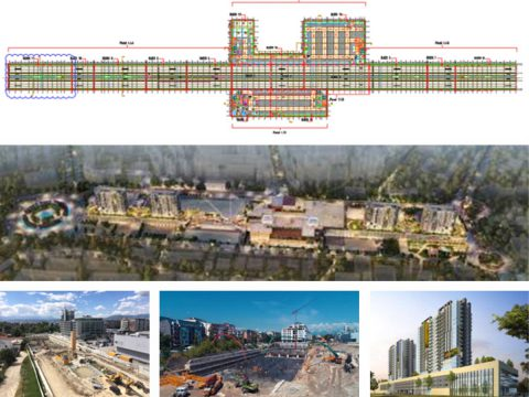 Project: DYMOND Mixed Use Center, Skopje (revision of structural system, consulting services in the phase of construction, experimental tests of precast floor slabs, underway (Investor: LIMAK Holding, Turkey).