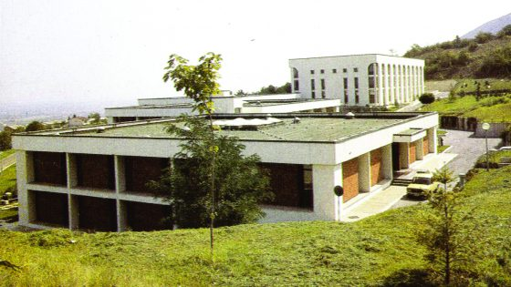 The new IZIIS campus – early 80-ties of the last century