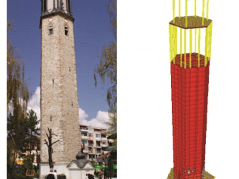 Project: Consolidation of the Clock Tower in Prilep, strengthening of the foundation structure, 2010.