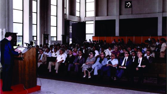 Scientific professional meeting, 80-ties of the last century