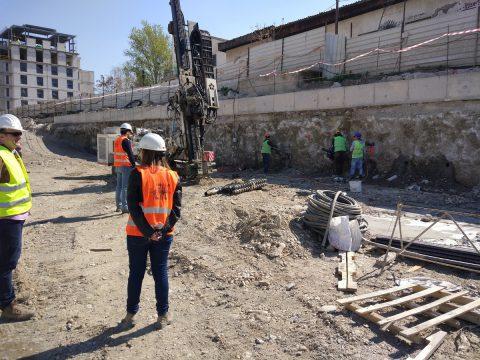 Project: Multipurpose centre in Skopje – South Boulevard, definition of seismic design parameters, 2020.