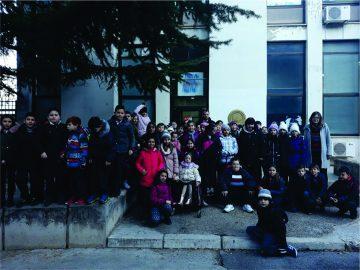 "With pupils from the primary school ""Gjorgjija Puleski"", Skopje (12.02.2018)"