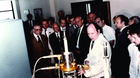 Visit to the Laboratory for dynamics of soil – during the 80-ties of the last century