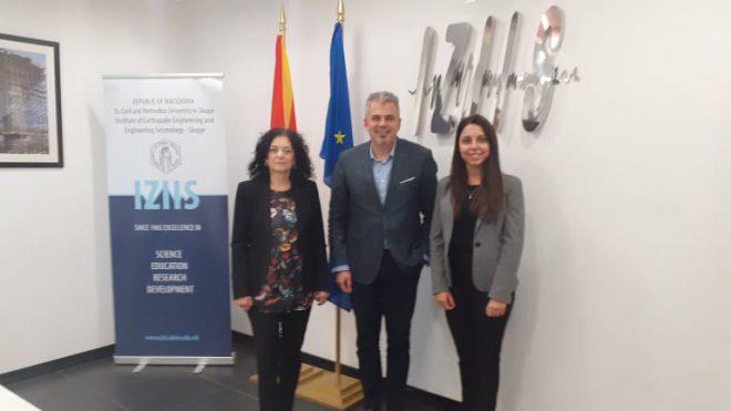 Посета и состанок со претставници на стопанската комора на Македонија