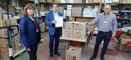 IZIIS DONATION TO THE RED CROSS