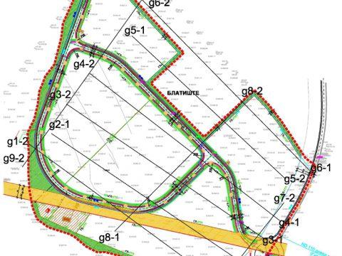 Project: Geophysical surveys for the technological development zone Delchevo, 2014.