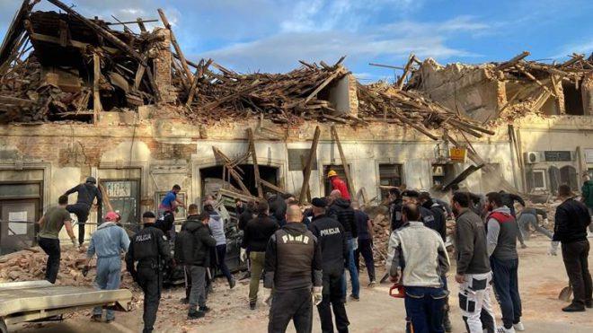 Земјотрес со магнитуда од 6.4 во Хрватска