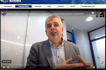 ТВ Сител: Анализа - Дали серијата земјотреси во соседството и во Мавровскиот регион се поврзани?
